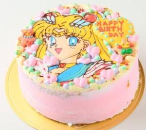 セーラームーンキャラクターケーキ
