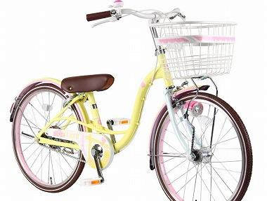 イエロー自転車プレゼント